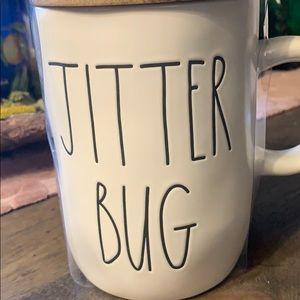💃🏻🕺Brand New Jitter Bug Mug with Wood Cover